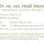Heid Schmid_Naturheilpraxis_Visitenkarte
