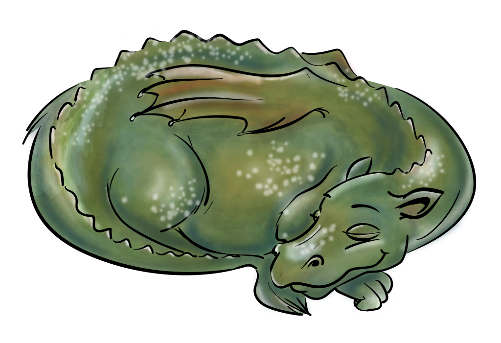 Drache, dragon, dreaming